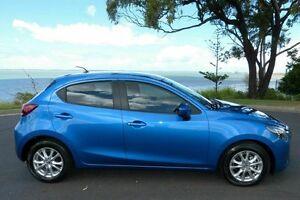 2015 Mazda 2 DJ Maxx Blue 6 Speed Automatic Hatchback South Gladstone Gladstone City Preview