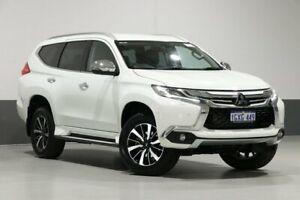 2017 Mitsubishi Pajero Sport MY17 Exceed (4x4) 7 Seat White 8 Speed Automatic Wagon