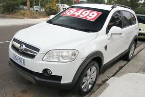2007 Holden Captiva CG LX (4x4) White 5 Speed Automatic Wagon Briar Hill Banyule Area Preview