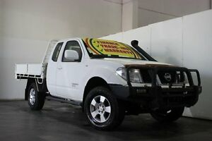 2009 Nissan Navara D40 ST-X (4x4) White 6 Speed Manual King C/Chas Underwood Logan Area Preview