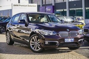 2016 BMW 120I F20 LCI Urban Line Steptronic Brown 8 Speed Sports Automatic Hatchback Victoria Park Victoria Park Area Preview