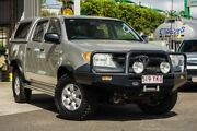 2005 Toyota Hilux GGN25R MY05 SR Silver 5 Speed Automatic Utility Gympie Gympie Area Preview