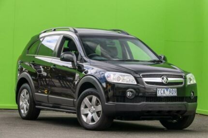 2010 Holden Captiva CG MY10 CX AWD Black 5 Speed Sports Automatic Wagon Ringwood East Maroondah Area Preview