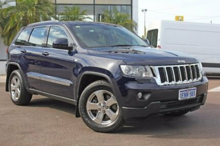 2012 Jeep Grand Cherokee Blue Sports Automatic Wagon
