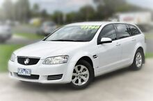 2012 Holden Commodore VE II MY12 Omega Sportwagon White 6 Speed Sports Automatic Wagon Berwick Casey Area Preview