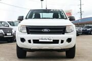 2015 Ford Ranger PX MkII XL Super Cab White 6 Speed Manual Cab Chassis Hillcrest Logan Area Preview