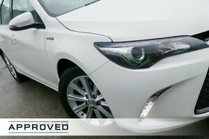 2015 Toyota Camry AVV50R Atara S Diamond White 1 Speed Constant Variable Sedan Hybrid