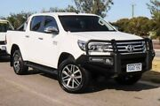 2015 Toyota Hilux GUN126R SR5 Double Cab Glacier White 6 Speed Manual Utility Mindarie Wanneroo Area Preview