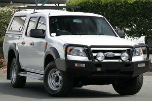 2010 Ford Ranger PK XL Crew Cab Cool White 5 Speed Manual Utility Acacia Ridge Brisbane South West Preview