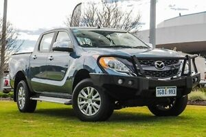 2013 Mazda BT-50 UP0YF1 XTR 4x2 Hi-Rider Blue 6 Speed Sports Automatic Utility Wangara Wanneroo Area Preview
