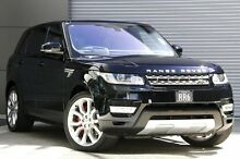 2015 Land Rover Range Rover LW MY15.5 Sport 3.0 SDV6 HSE Mariana Black 8 Speed Automatic Wagon Burwood Burwood Area Preview