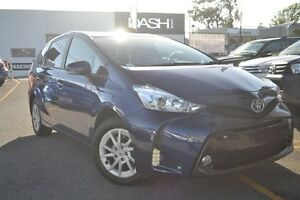 2015 Toyota Prius v ZVW40R Tasman Blue 1 Speed Constant Variable Wagon Claremont Nedlands Area Preview