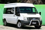 2007 Ford Transit VM Mid Roof White 6 Speed Manual Bus Ringwood East Maroondah Area Preview