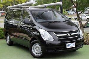 2011 Hyundai iLOAD TQ-V Black 5 Speed Manual Van Berwick Casey Area Preview
