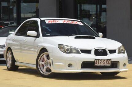 2005 Subaru Impreza S MY06 WRX AWD White 5 Speed Manual Sedan Yeerongpilly Brisbane South West Preview