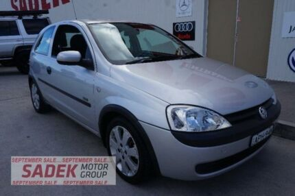 2003 Holden Barina XC MY03 SXI Silver 4 Speed Automatic Hatchback