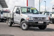 2011 Nissan Navara D22 S5 DX Silver 5 Speed Manual Cab Chassis Monkland Gympie Area Preview