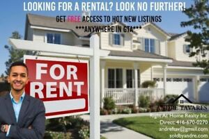 Looking for a rental? Free services! Students welcome!