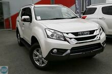2016 Isuzu MU-X MY15 LS-T Rev-Tronic 4x2 Silky White 5 Speed Sports Automatic Wagon Hillman Rockingham Area Preview