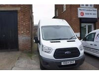 Ford Transit 2.2 350 - LWB - High Roof (New Shape) 1 Previous Owner, FSH, Bluetooth, CD Player