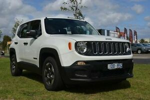 2015 Jeep Renegade BU MY16 Sport DDCT White 6 Speed Sports Automatic Dual Clutch Hatchback Hallam Casey Area Preview
