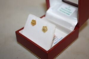 Natural hand carved Mother of Pearl and Natural Diamond earrings London Ontario image 1