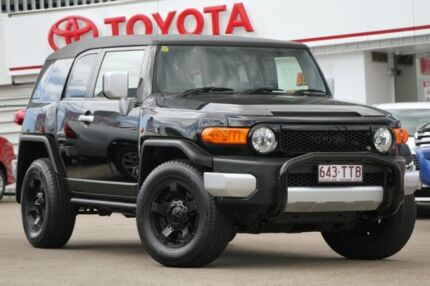 2014 Toyota FJ Cruiser GSJ15R MY14 Ink 5 Speed Automatic Wagon