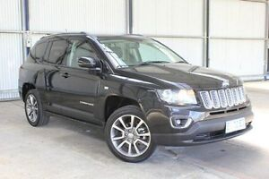 2014 Jeep Compass MK MY15 Limited CVT Auto Stick Black 6 Speed Constant Variable Wagon Invermay Launceston Area Preview