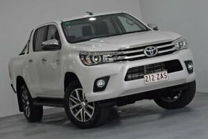 2018 Toyota Hilux GUN126R SR5 White Sports Automatic Indooroopilly Brisbane South West Preview