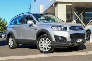2014 Holden Captiva CG MY15 7 Active Silver, Chrome 6 Speed Sports Automatic Wagon Kirrawee Sutherland Area Preview