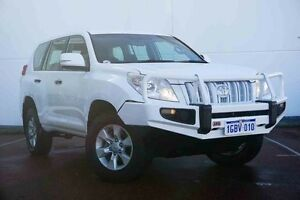 2012 Toyota Landcruiser Prado KDJ150R GX White 6 Speed Manual Wagon Wangara Wanneroo Area Preview