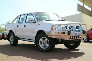 2014 Nissan Navara D22 S5 ST-R White 5 Speed Manual Utility Wilson Canning Area Preview