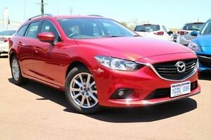 2016 Mazda 6 GJ1032 Sport SKYACTIV-Drive Red 6 Speed Sports Automatic Wagon Wilson Canning Area Preview