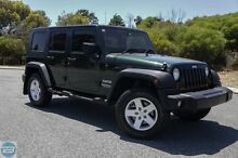 2010 Jeep Wrangler JK MY2010 Unlimited Sport Green 6 Speed Manual Softtop Hillman Rockingham Area Preview