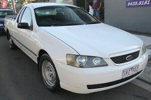 2003 Ford Falcon BA XL White 4 Speed Auto Seq Sportshift Utility Briar Hill Banyule Area Preview