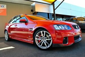 2012 Holden Commodore VE II MY12.5 SS V Z Series Red Hot 6 Speed Sports Automatic Sedan