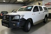 2015 Toyota Hilux SR White Automatic Utility Southport Gold Coast City Preview