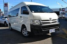 2010 Toyota Hiace KDH223R MY11 Commuter High Roof Super LWB French Vanilla 4 Speed Automatic Bus Claremont Nedlands Area Preview