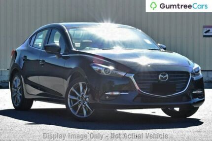 2017 Mazda 3 BN MY17 SP25 Astina Jet Black 6 Speed Automatic Sedan Liverpool Liverpool Area Preview