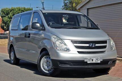 2008 Hyundai iLOAD TQ-V Crew Cab Silver 5 Speed Sports Automatic Van Glenelg Holdfast Bay Preview