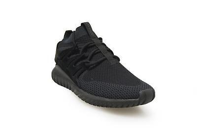 online retailer e3336 422f1 Details about Mens Adidas Tubular Nova Primeknit - S80109 - Triple Black  Trainers