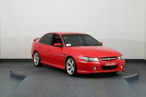 2005 Holden Commodore VZ SSZ Red 4 Speed Automatic Sedan Smithfield Parramatta Area Preview