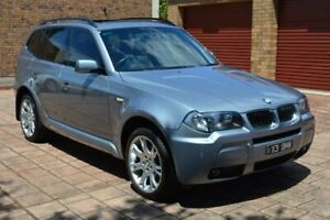 2006 BMW X3 E83 MY06 Steptronic Silver 5 Speed Sports Automatic Wagon Norwood Norwood Area Preview