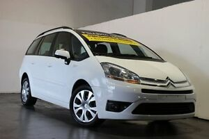 2010 Citroen C4 Picasso MY10 HDi White 6 Speed Automated Manual Wagon Underwood Logan Area Preview