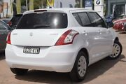 2010 Suzuki Swift RS415 White 5 Speed Manual Hatchback Brookvale Manly Area Preview