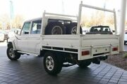 2013 Toyota Landcruiser VDJ79R MY13 GXL Double Cab White 5 Speed Manual Cab Chassis Clarkson Wanneroo Area Preview