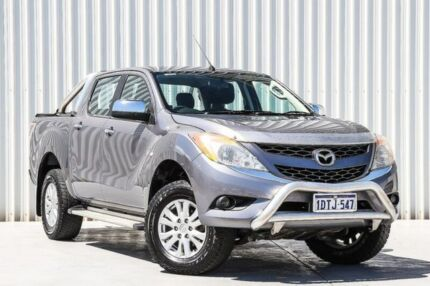 2012 Mazda BT-50 UP0YF1 XTR Grey 6 Speed Sports Automatic Utility Willetton Canning Area Preview