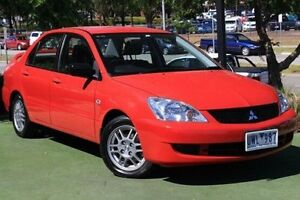 2007 Mitsubishi Lancer CH MY07 ES Red 4 Speed Sports Automatic Sedan Berwick Casey Area Preview