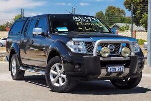 2008 Nissan Navara D40 Outlaw Black 6 Speed Manual Utility Kenwick Gosnells Area Preview