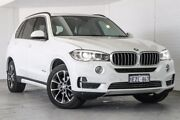 2014 BMW X5 F15 xDrive30d White 8 Speed Sports Automatic Wagon Bellevue Swan Area Preview